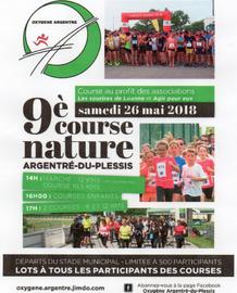 Course Nature d'Argentré du Plessis - Samedi 26 mai 2018