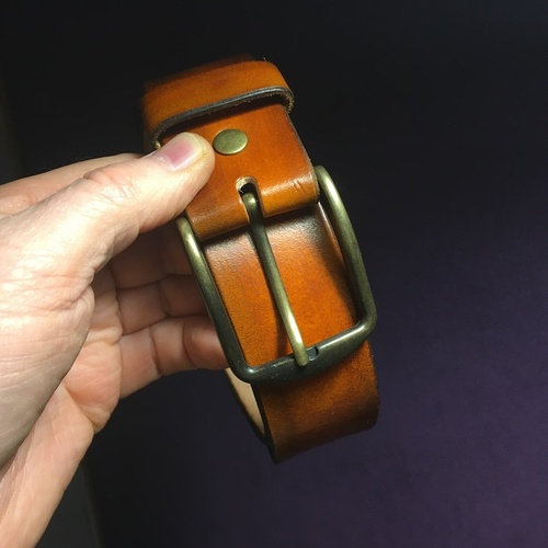 ceinture classique en cuir et sur-mesure