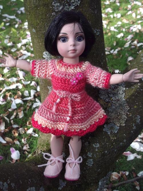 La jolie robe de Rose-Lys