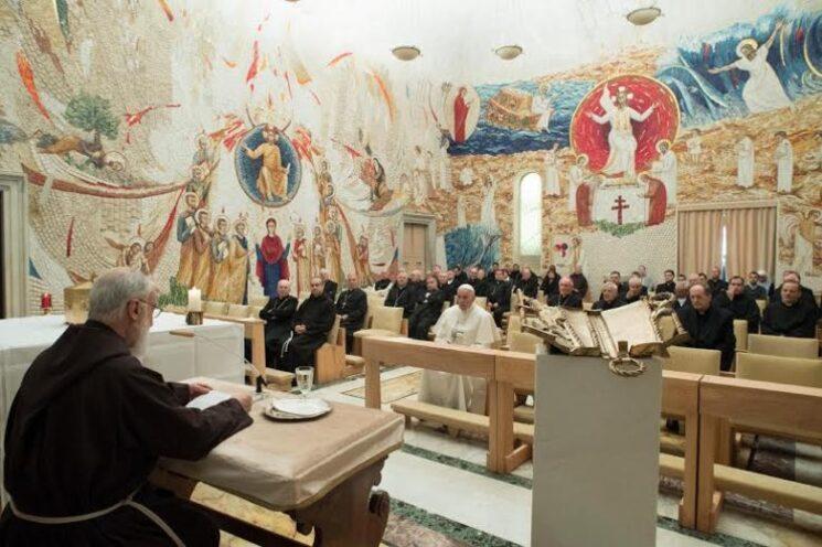 IVe prédication de l'Avent 2016 © L'Osservatore Romano