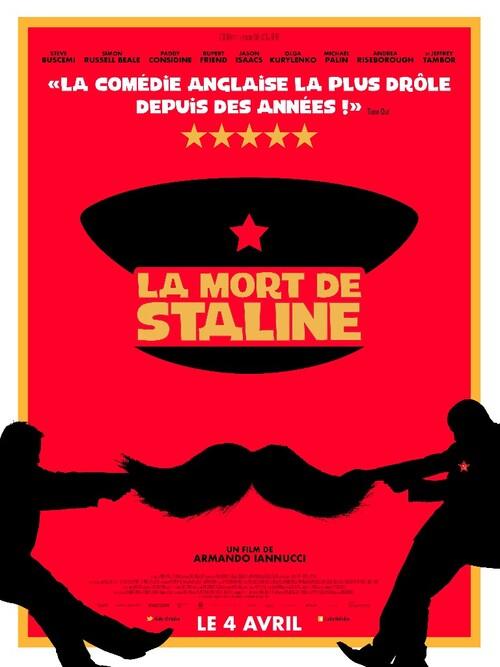 LA MORT DE STALINE avec Steve Buscemi (LA BANDE-ANNONCE) Le 4 avril 2018 au cinéma