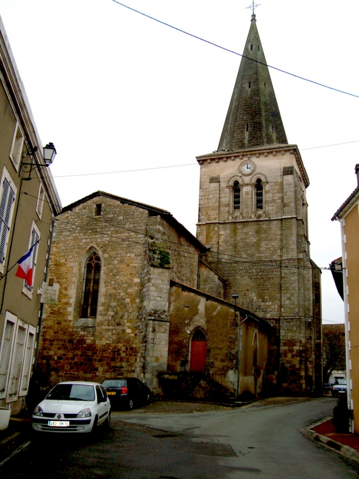 L'église de Saint-Claud