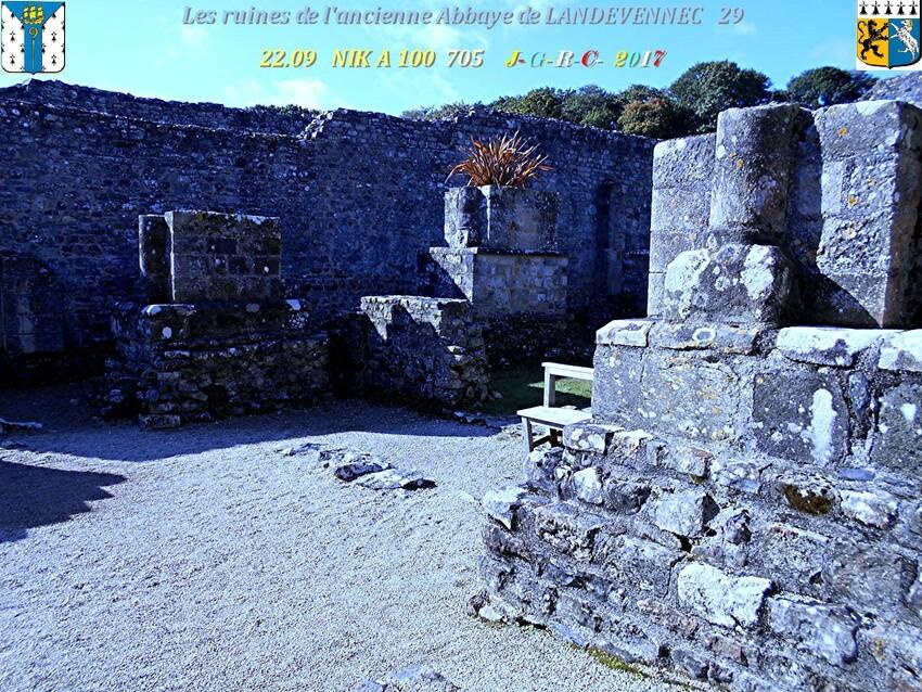 Ancienne  Abbaye 3/4  de  LANDEVENNEC  29      D    20/02/2019