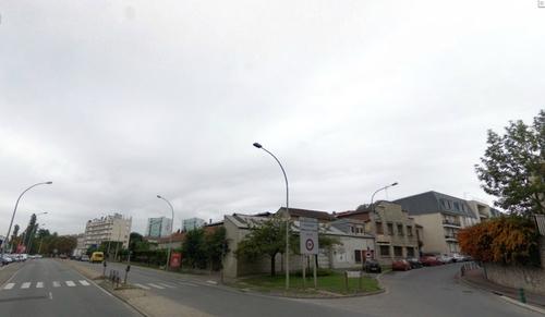 Les rues du pâté de maison quartiers en 2008