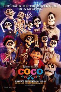 Coco : Depuis déjà plusieurs générations, la musique est bannie dans la famille de Miguel. Un vrai déchirement pour le jeune garçon dont le rêve ultime est de devenir un musicien aussi accompli que son idole, Ernesto de la Cruz. Bien décidé à prouver son talent, Miguel, par un étrange concours de circonstances, se retrouve propulsé dans un endroit aussi étonnant que coloré : le Pays des Morts. Là, il se lie d'amitié avec Hector, un gentil garçon mais un peu filou sur les bords. Ensemble, ils vont accomplir un voyage extraordinaire qui leur révèlera la véritable histoire qui se cache derrière celle de la famille de Miguel… ----- ...  Origine : américain Réalisation : Lee Unkrich Durée : 1h 45min Acteur(s) : Andrea Santamaria,Ary Abittan,François-Xavier Demaison Genre : Animation,Aventure,Fantastique Date de sortie : 29 novembre 2017(1h 45min) Critiques Spectateurs : 4,6 Critiques Presses : 4,1
