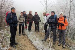 3 décembre 2019 - Le tour des Crêtes de Comblezine.