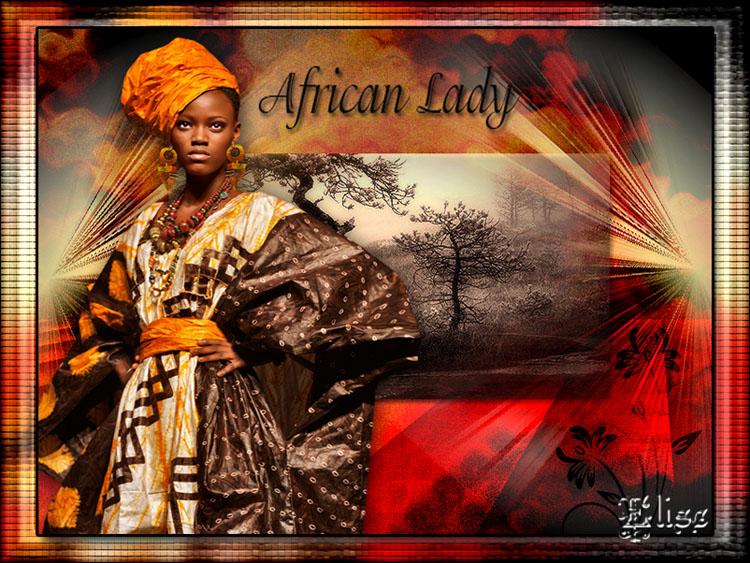 African Lady de Auréliagraphics