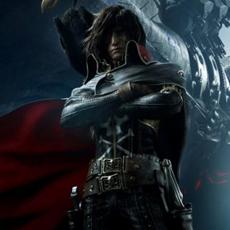 Captain Harlock (Albator) Le Film Daté au Japon