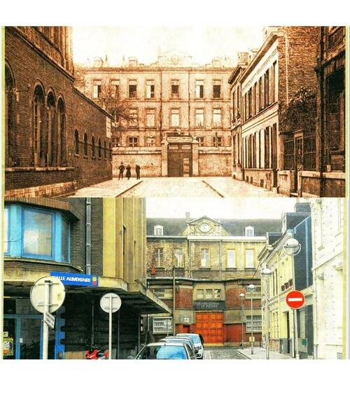 La rue Nehou et le pensionnat Saint-Pierre