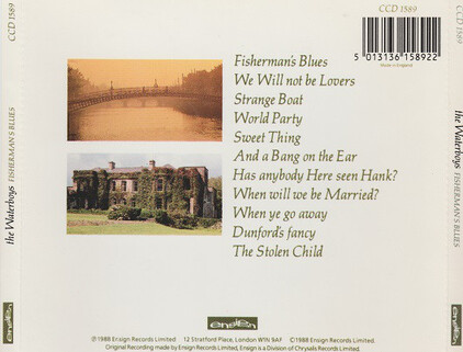 Nostalgie : The Waterboys - Fisherman's blues (1988)