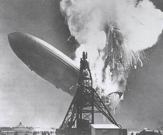 Explosion du Hindenburg