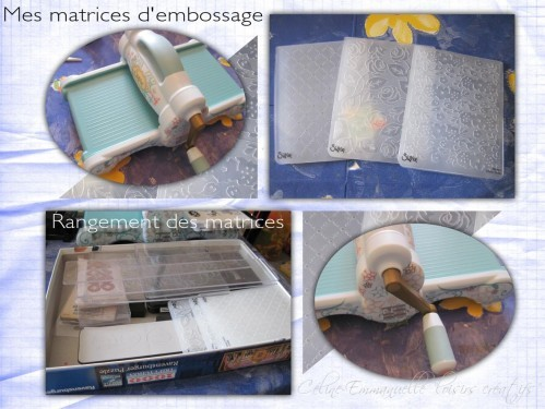 Matrices d'embossage Sizzix Big Shot