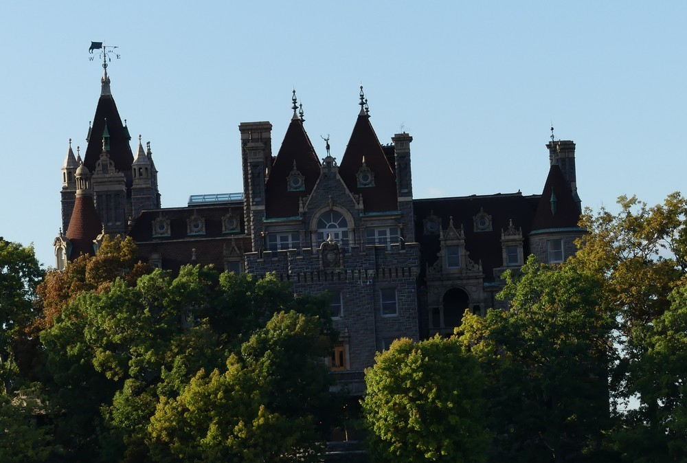 Mille îles : le château de Boldt...