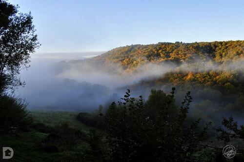 Brume dans ma vallée