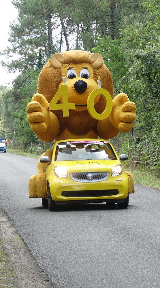 La caravane du Tour de France (2/2)...