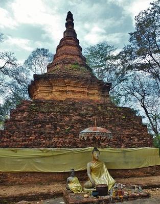Chedi du Wat Phrathat Com Chaeng (Phrae)