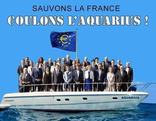 Macron fait le pompier, Marine Le Pen contente, etc.ce sont les infos du lundi