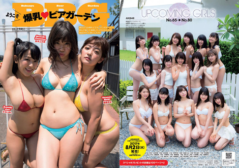 Magazine : ( [Weekly Playboy] - 2017 / n°33 )