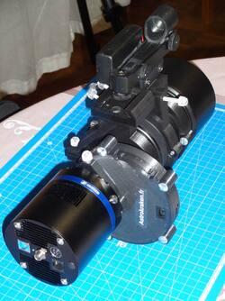 roue à filtres,filter wheel,canon ef,qhyccd