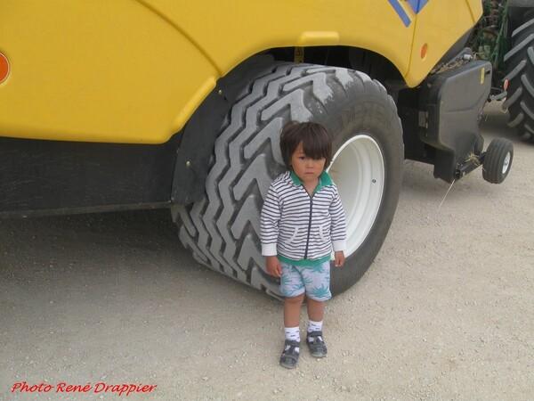 A la Barotte avec un petit garçon chinois....