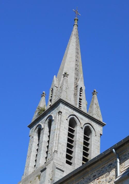 clocher eglise saint pierre langourla