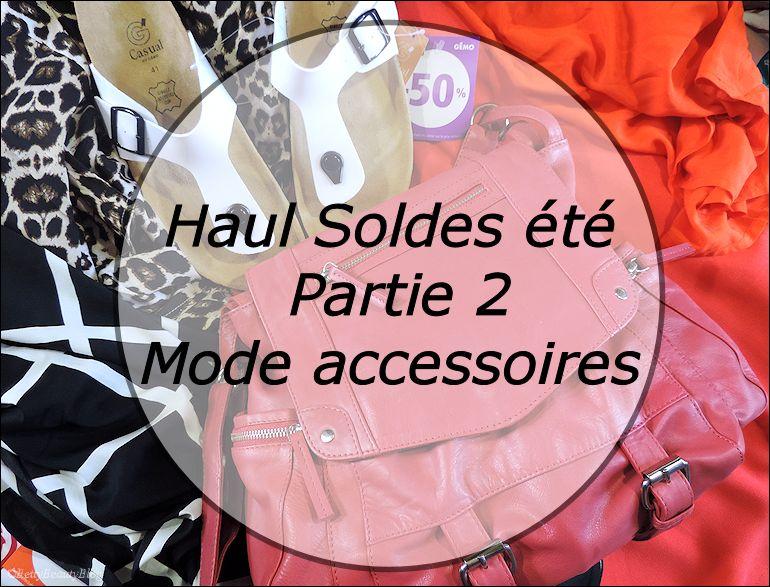 Haul soldes partie 2 la mode et accessoires