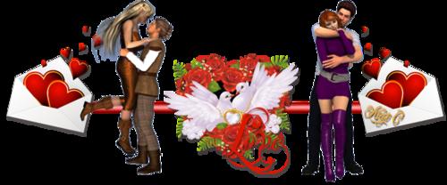 Amour à la Saint Valentin