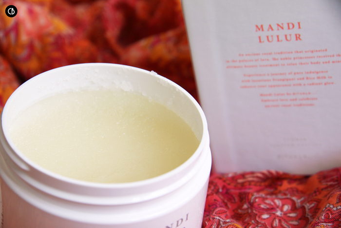 La collection Mandy Lulur by Rituals