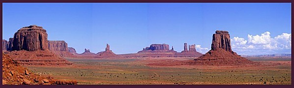 Monument valley panoramique 1