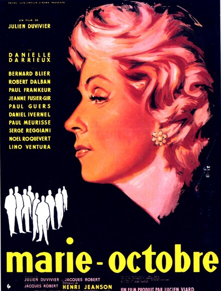 MARIE OCTOBRE - BOX OFFICE LINO VENTURA 1959