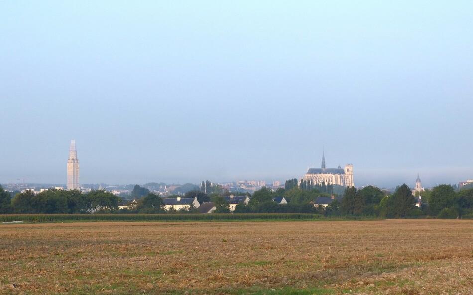 On est bientôt arrivé à Amiens