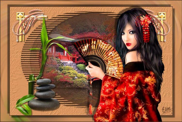 Japan Girl de Inge Lore chez Franie