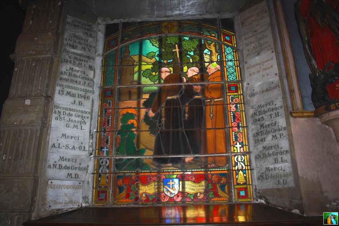 NORMANDIE mai 2017 HONFLEUR : la chapelle tout là-haut !!!