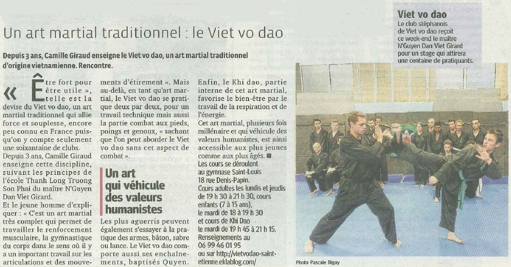 Article La Tribune - 23/10/2014