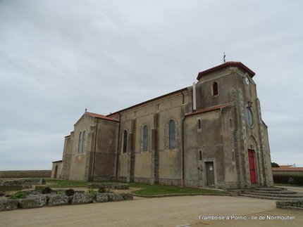 Noirmoutier - Eglise Sacré Coeur de l'Herbaudière - 2018