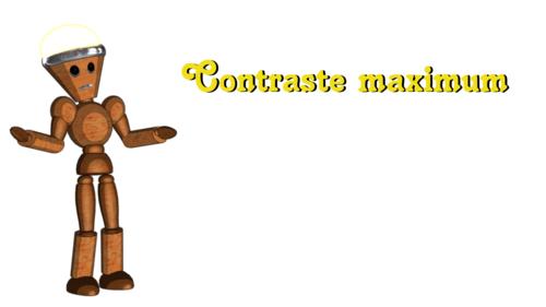 5 - Contraste maximum
