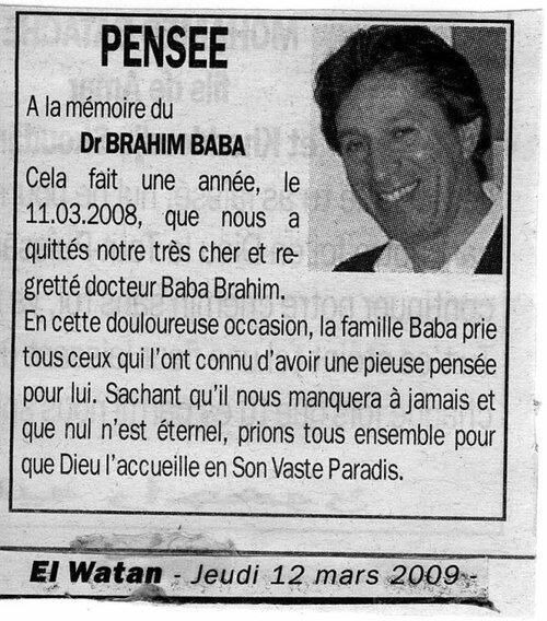 Docteur Baba Brahim
