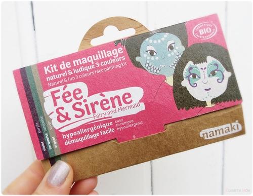 C'est bientôt Halloween, le moment de tester les Kits de maquillage Namaki !
