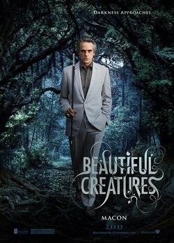 Sublimes Créatures - 16 lunes : Affiche personnage : Macon Ravenwood