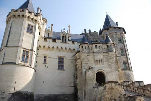 Le çâteau de Saumur (photos)