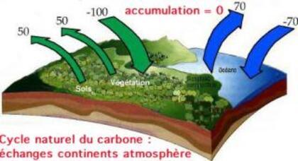 Pollution due à l'homme et climat
