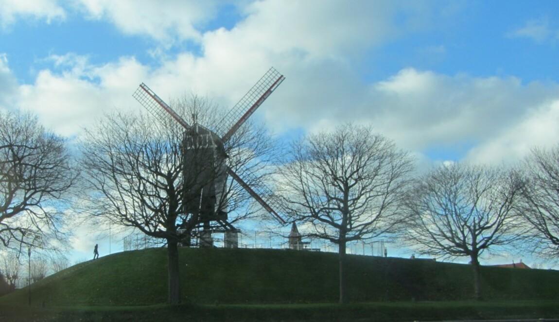 Bruges (les moulins)