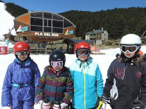 Deuxième jour de ski