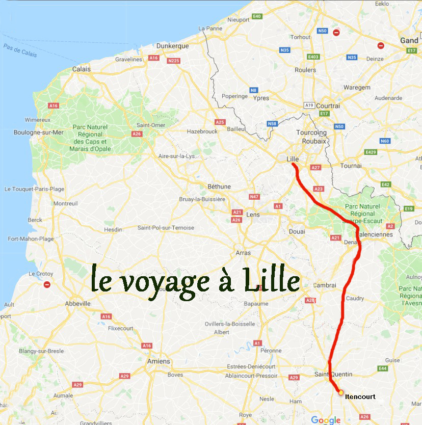le voyage à Lille