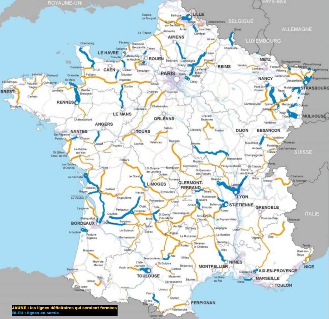 Et si l'on recréait un réseau SNCF plus dense pour réduire l'usage de l'automobile ?