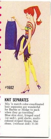 """Barbie et les """"Knit"""""""