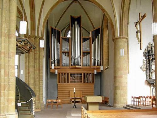 Le nouvel orgue à Bielefeld