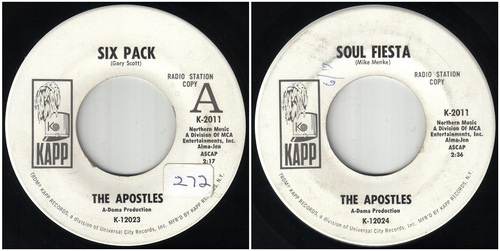 THE APOSTLES - SAINT LOUIS BAND