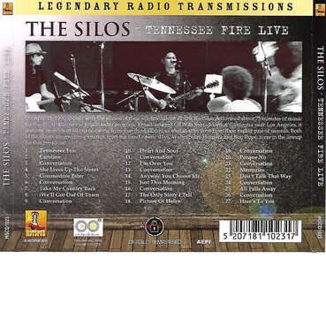 Le coin des lecteurs # 88: The Silos - 18 Avril 1990 - SNAP on KCRW - FM - Santa Monica