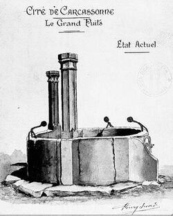 Le Grand Puits de la Cité de Carcassonne